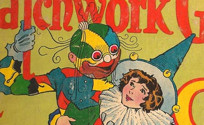 detail from Patchwork Girl of Oz - Junior Edition - illustration by John R. Neill 1913