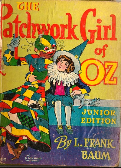 Patchwork Girl of Oz - Junior Edition - illustration by John R. Neill 1913