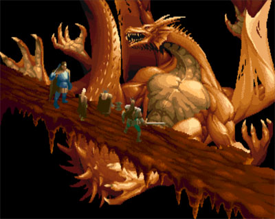 Dungeons & Dragons: Tower of Doom - 1993 - Capcom