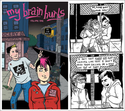 My Brain Hurts, by  Liz Baillie