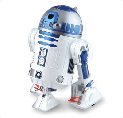 R2-D2 Wireless Webcam with Skype Phone