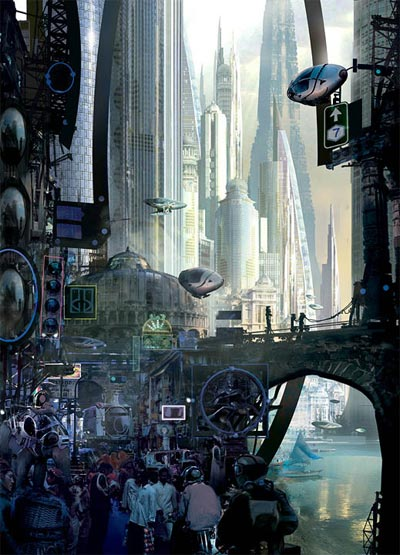 Chesley Award Winner: Stephan Martiniere