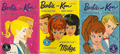Vintage Barbie Catalogues