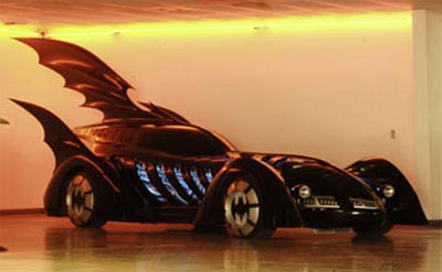 The Batmobile, which was featured in the 1995 Batman Forever movie