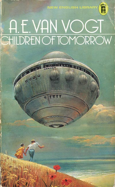 Children of Tomorrow: Illustration by Bruce Pennington