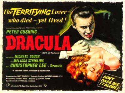 Dracula Poster from 1958