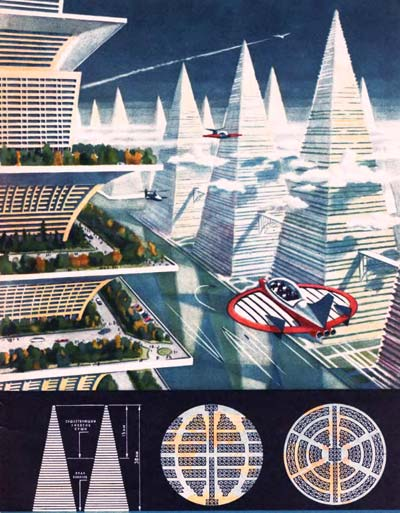 Soviet City of the Future from 1969