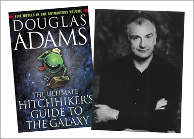 the Hitchhiker's Guide to the Galaxy & Douglas Adams