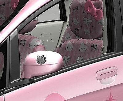 The Hello Kitty Car