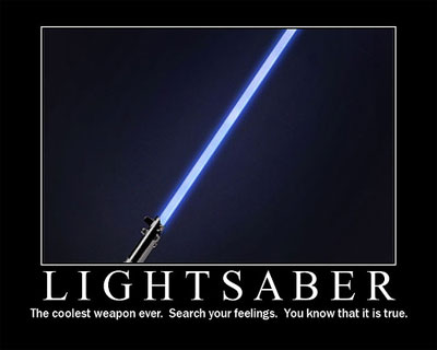 black lightsaber report