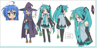 Read More Tags Anime Lucky Star Miku Hatsune