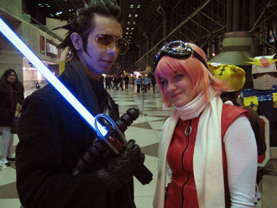 New York Anime Festival: Cosplay - December 7, 2007 - FLCL