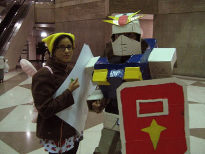 New York Anime Festival: Cosplay - December 7, 2007 - Homemade Gundam