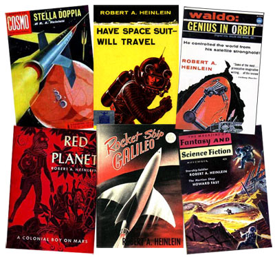 Robert A. Heinlein - Pulp Magazine and Book Covers