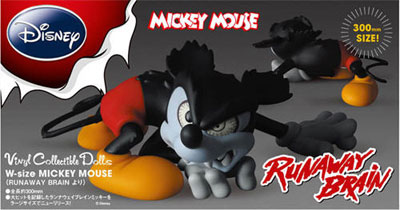 Mickey Mouse in Runaway Brain W-Size