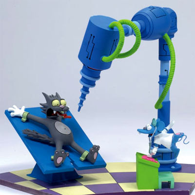 [Iron Studios] The Simpsons -  Homer vs Bart Simpsons-mcfarlane-toys