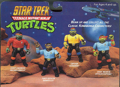 Star Trek Teenage Mutant Ninja Turtles