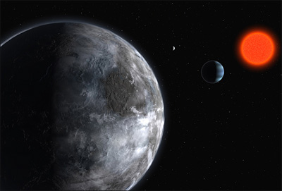 Astronomers Find Earth-like Planet