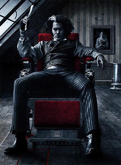 Tim Burton's Sweeney Todd Movie Poster