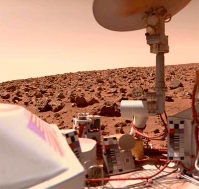 Viking labder on Mars