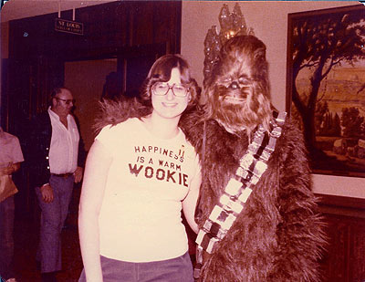 Happiness is  a Warm Wookie