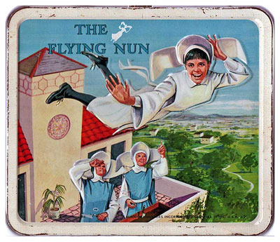 The Flying Nun lunchbox - front
