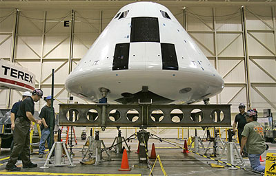 New NASA capsule Orion resembles Apollo
