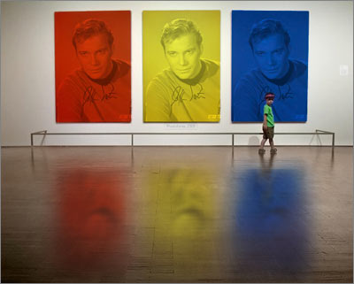 Williams Shatner with a PhotoFunia Treatment: MoMA