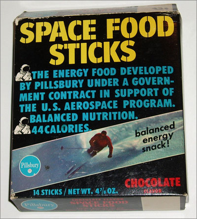 The Space Food Stick - Cover