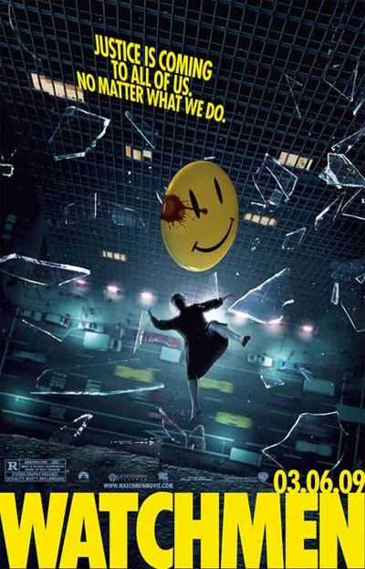 Watchmen Poster from October 2008