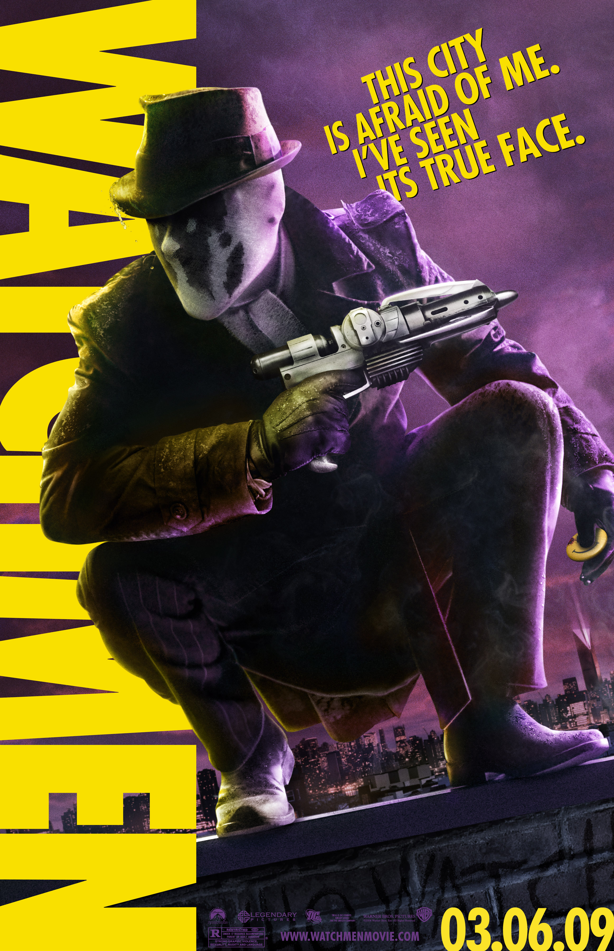 watchmen com watchmen character poster of rorschach jackie earle haley