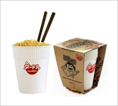 Re-usable Ceramic Noodle Cup