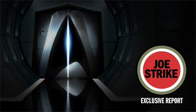 Exclusive Star Trek XI Report with Joe Strike