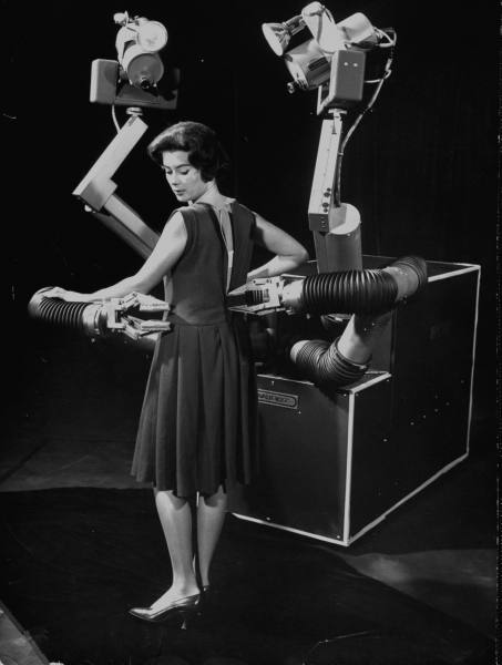 Mobot the magnificent mobile robot invented by Hughes Aircraft Electronic Labs. 1961