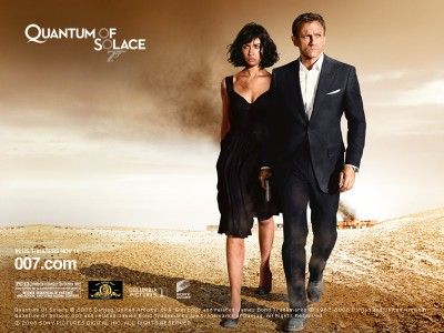 Quantum of Solace: James Bond