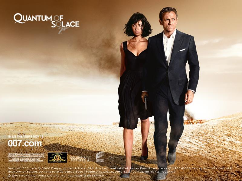Quantum of Solace: James Bond