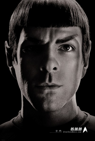 Spock Character Poster for Star Trek XI - 2009