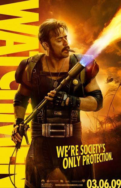 Watchmen Character Poster of The Comedian (Jeffrey Dean Morgan)