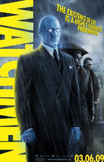 Watchmen Character Poster of Dr. Manhattan (Billy Crudup)
