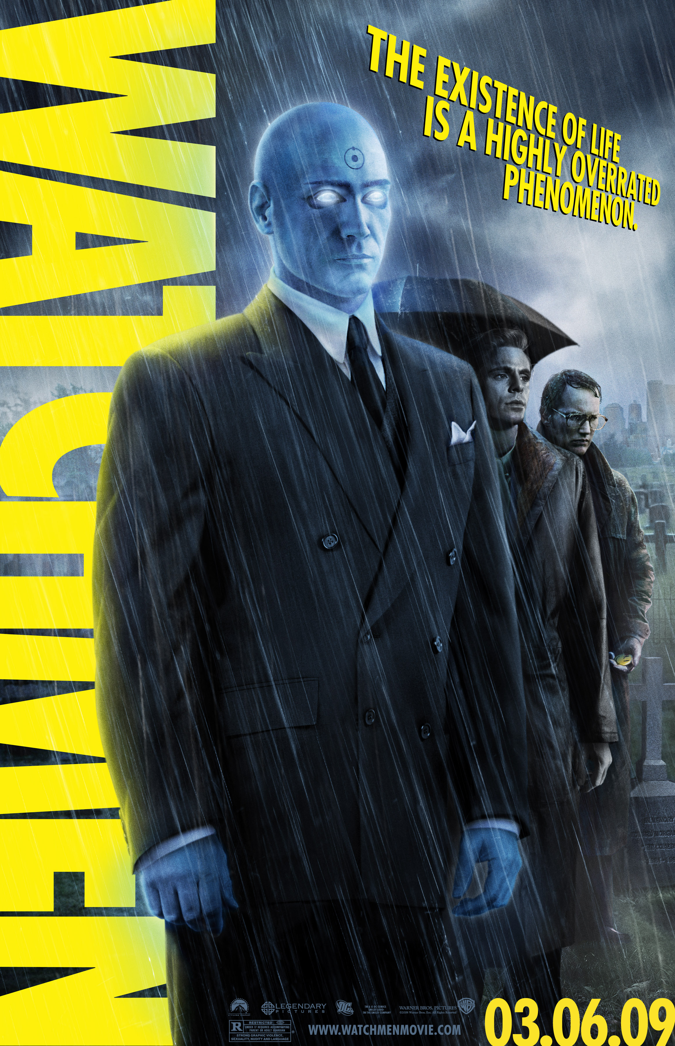 Watchmen Posters The City Is Afraid Of You But The