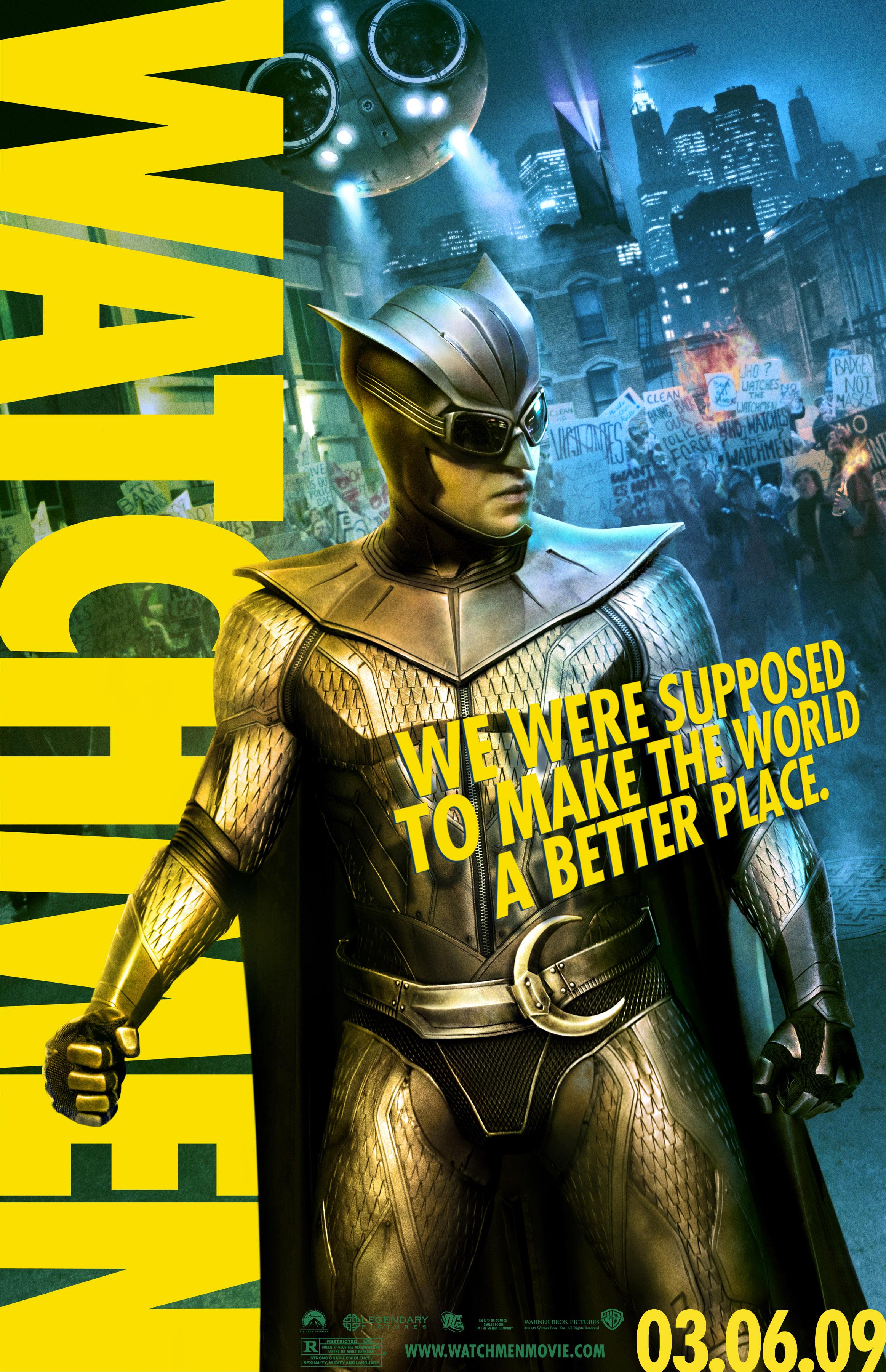 Watchmen Posters: The ... Malin Akerman