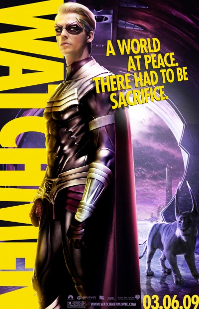 Watchmen Character Poster of Ozymandias (Matthew Goode)