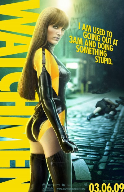 Watchmen Character Poster of Silk Spectre II (Malin Akerman)