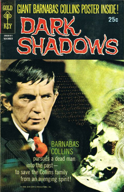 Dark Shadows Comic Book from November, 1969
