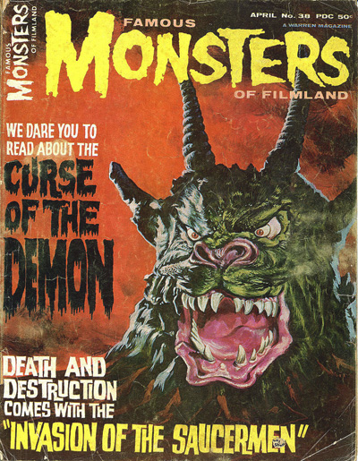 Famous Monsters of Filmland: Issue 38