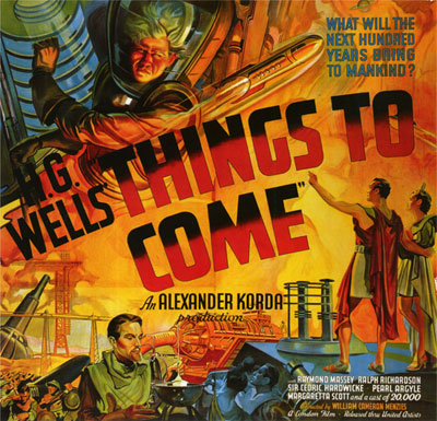 The Shape of Things to Come (1936): Movie Poster