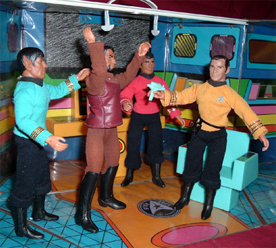 Star Trek Mego action figures from the 70s