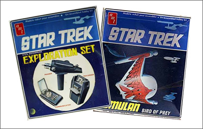 AMT Model Kits: The golden age of Star Trek merchandise!
