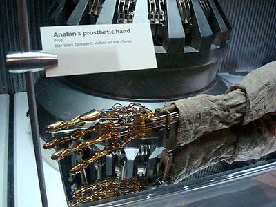 Star Wars Exhibition, Powerhouse Museum, Sydney, Australia - photo by Francis Zuccarello