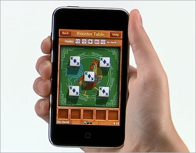 Casual games on the iPod Touch